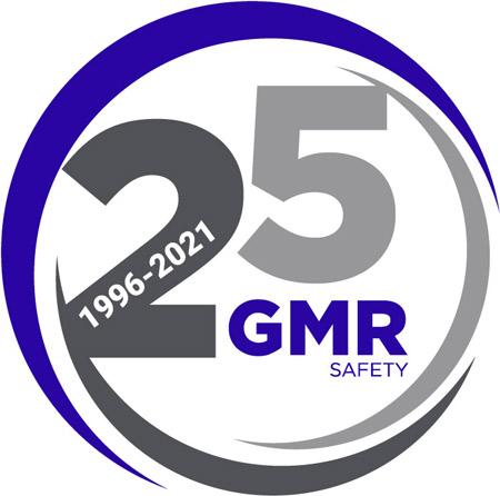 2021- Logo GMR Safety 25ème anniversaire