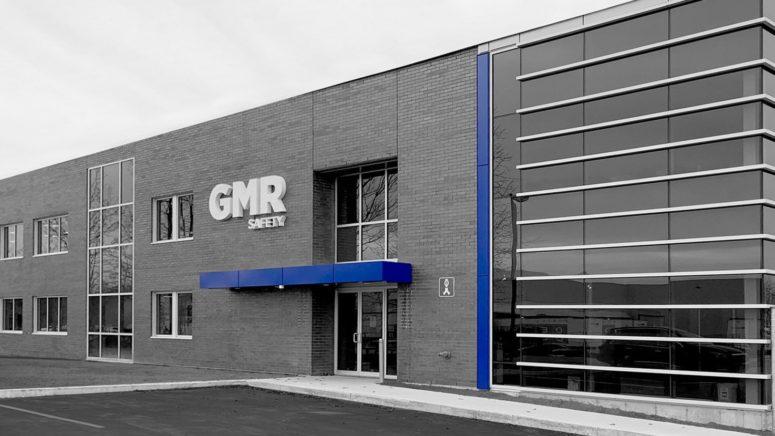Bâtiment moderne GMR Safety façade