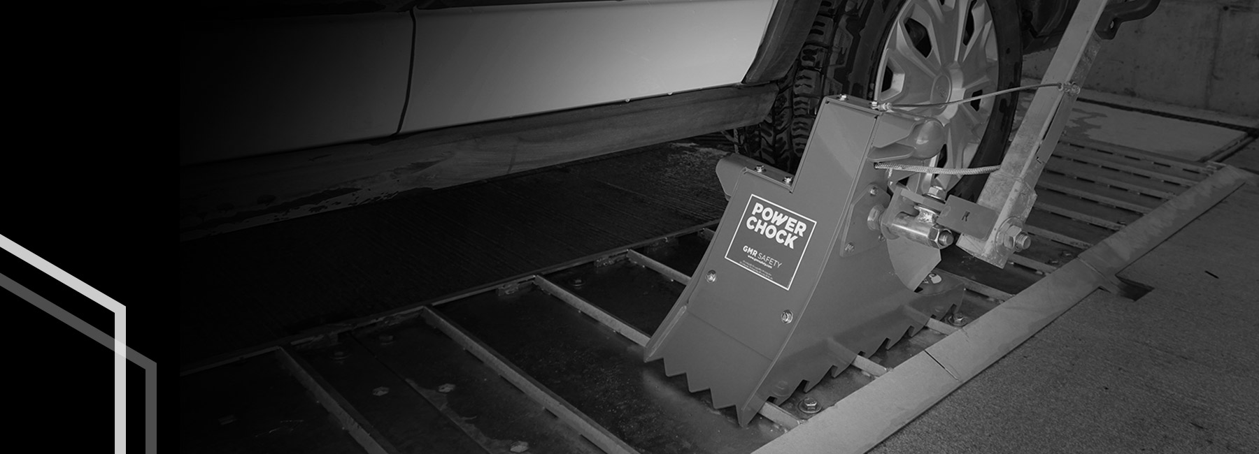 POWERCHOCK secures all types vehicles