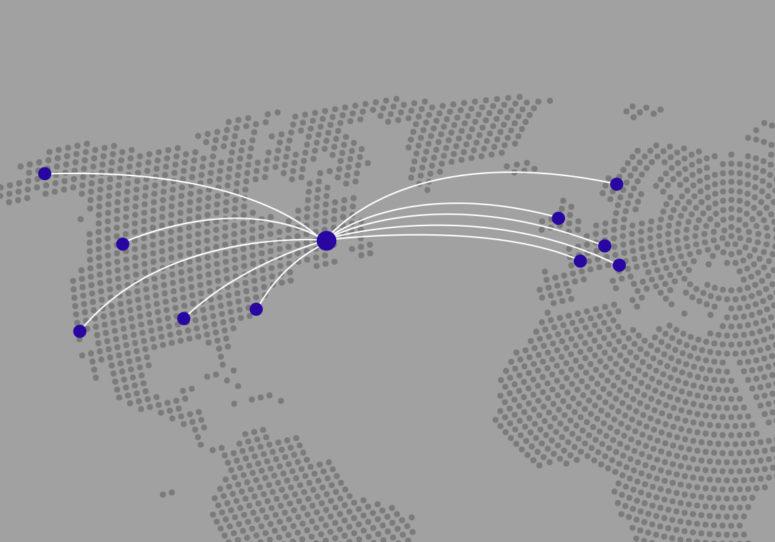 Présence GMR Safety carte du monde